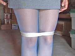 Pissing bondage pantyhose are absolutely