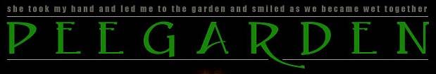 Pee Garden Logo